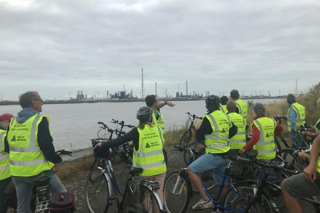 fietsers haven van antwerpen