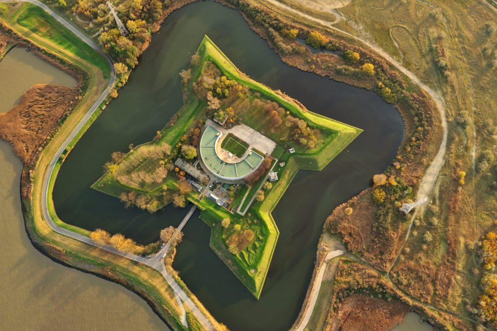 Fort Liefkenshoek luchtfoto